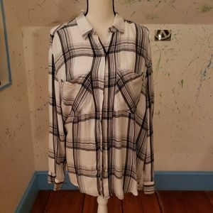 Express Button Down Shirt-Size Large